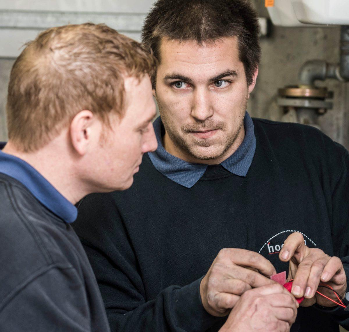 Mitarbeiter Sanitär-Hochrein GmbH
